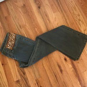 Vintage Inspired Flare Jean